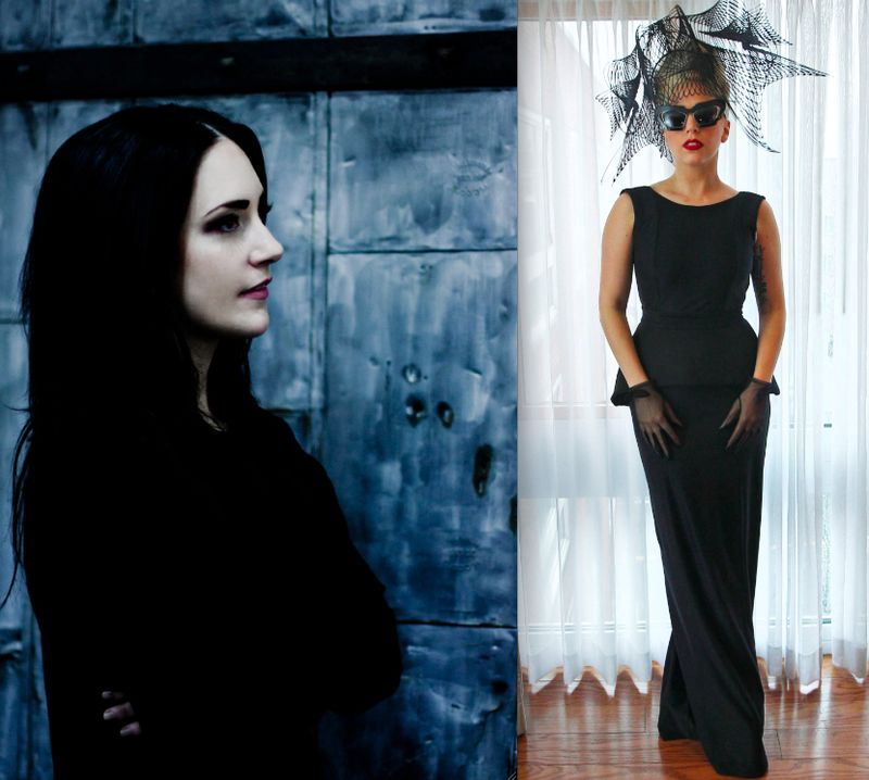 1. Sally LaPointe and Lady Gaga in SLP:The Fashion Informer