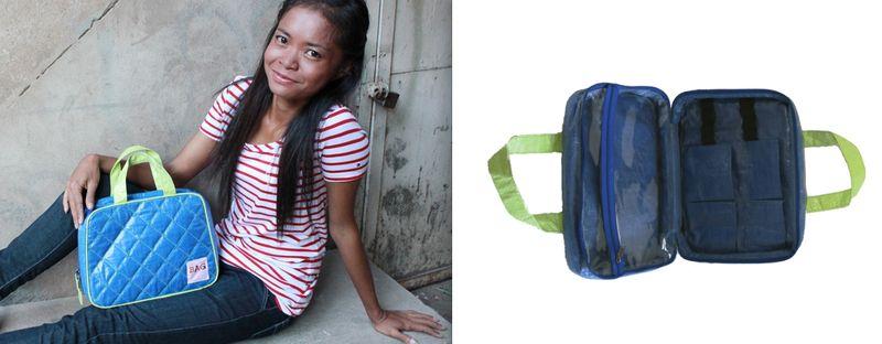 5. Nomi Network toiletries bag:The Fashion Informer