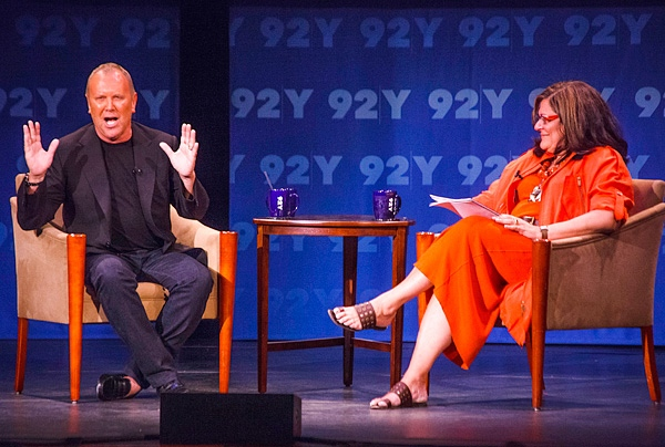 2. Michael Kors and Fern Mallis at 92Y