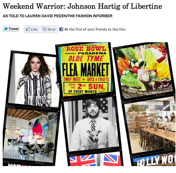 The Fashion Informer on Rue La La-Johnson Hartig Weekend Warrior