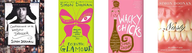 Simon Doonan book covers:The Fashion Informer