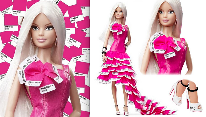 8. Pantone Barbie:The Fashion Informer