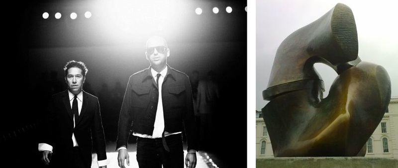 Ruffian portait:Henry Moore fall 2012 inspiration:The Fashion Informer