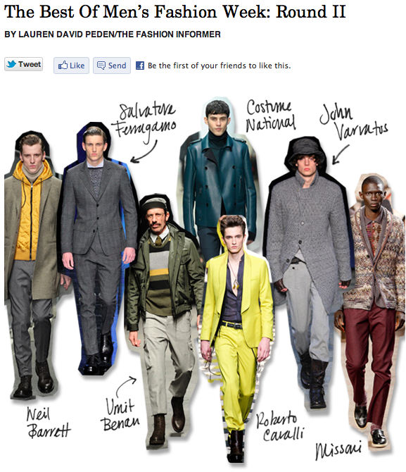 Men's Fashion Week 2:The Fashion Informer for Rue La La