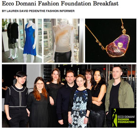 TFI on Rue La La-Ecco Domani Fashion Foundation