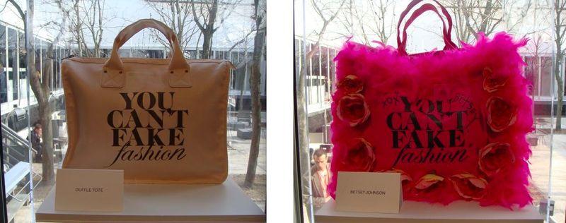 5. CFDA:eBay You Can't Fake Fashion bags by The Fashion Informer:Lauren David Peden