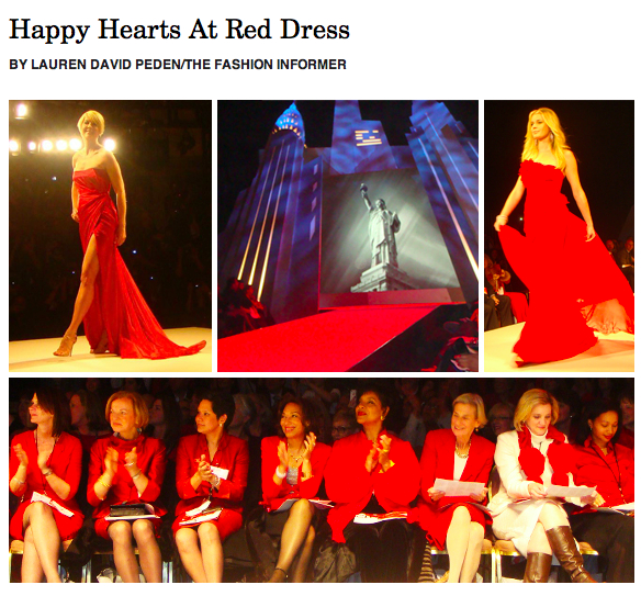Red Dress 2012:The Fashion Informer for Rue La La