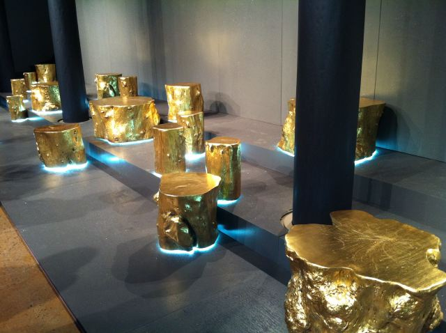 9. Erin Fetherston fall 2012 gold stumps by The Fashion Informer