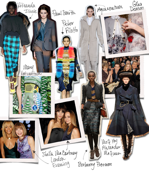 The Fashion Informer on Rue La La:Fall 2012 London Fashion Week