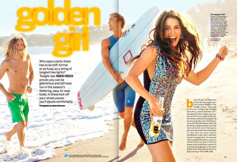 10. Evyan Metzner:Nikki Reed SELF shoot