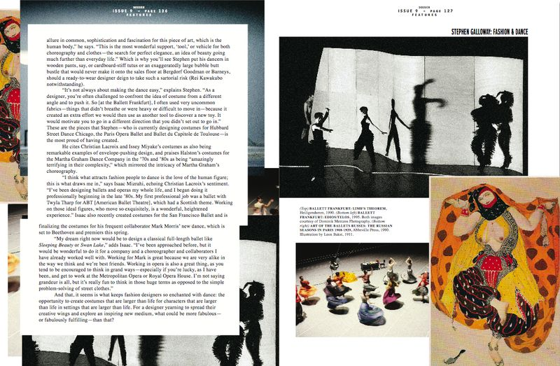 Dossier:Stephen Galloway feature by Lauren David Peden, page 3