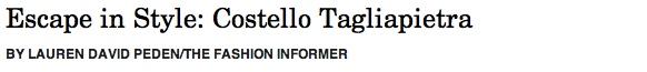 Costello Tagliapietra header