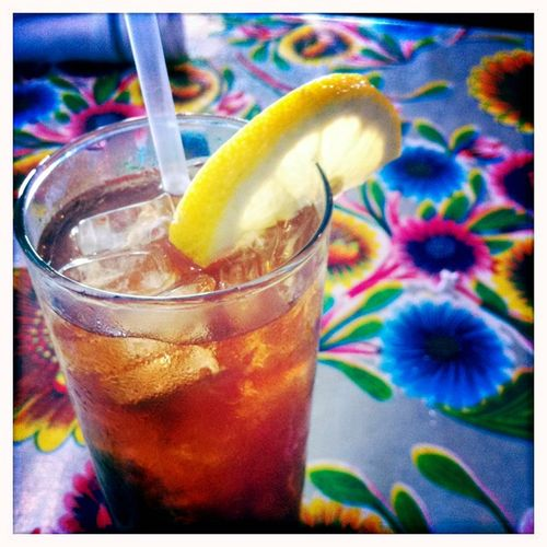 Happy Friday:iced tea by The Fashion Informer