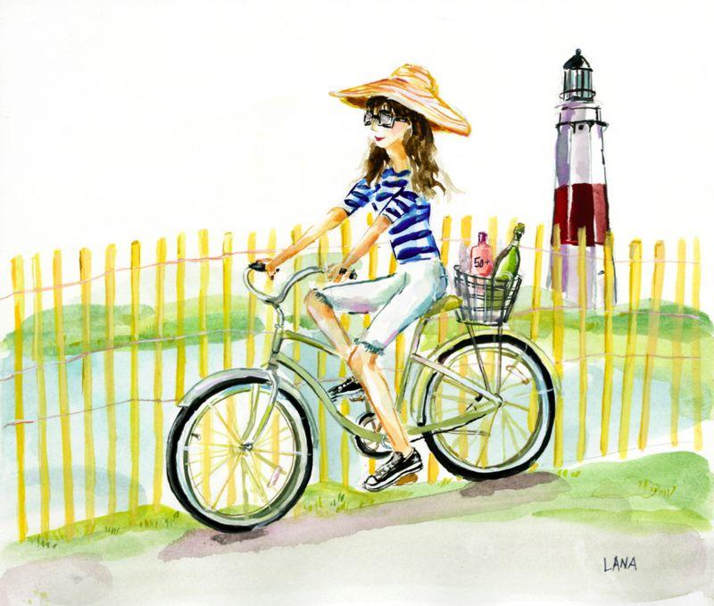 LDP:The Fashion Informer hits the beach by Lana Frankel