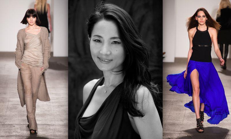 1. Sunhee Hwang portrait and fall 2012 runway on The Fashion Informer