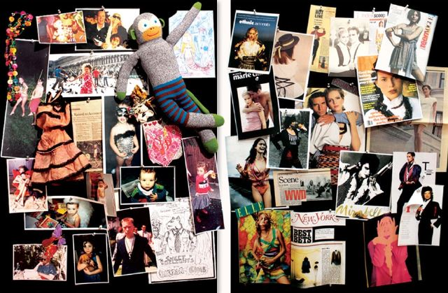 8. Nanette Lepore mood board 1