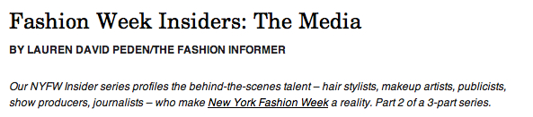 TFI on Rue La La-NYFW Insiders Media header