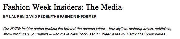 TFI on Rue La La-NYFW Insiders Media header