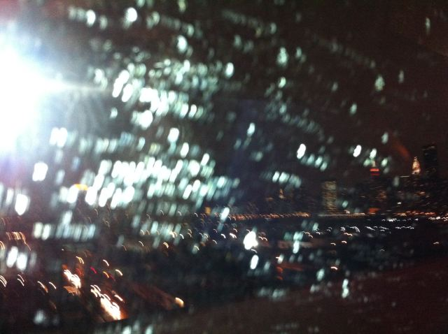 Valentin's Day rain:NYC skyline:The Fashion Informer