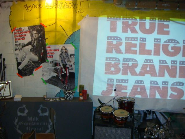 3. True Religion lounge at MADE Fashion Week:The Fashion Informer