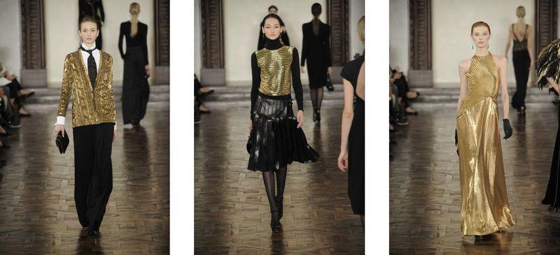 1a. Ralph Lauren fall 2012 runway:The Fashion Informer
