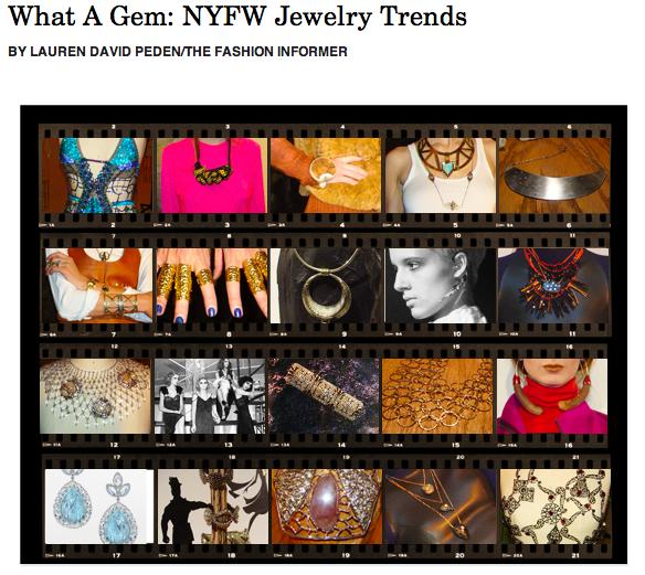 TFI on Rue La La-Fall 2012 NYFW Jewelry Trends