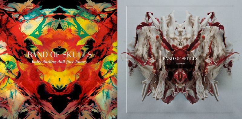 3. Band of Skulls album cover art:The Fashion Informer