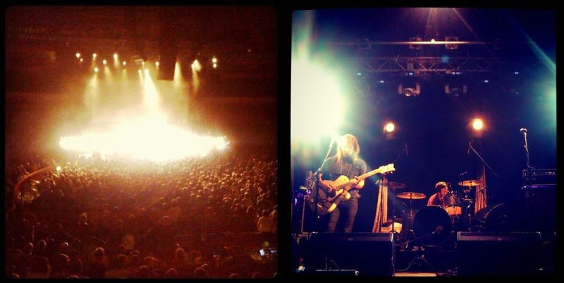 10. Band of Skulls onstage:The Fashion Informer