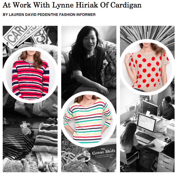 The Fashion Informer on Rue La La-Lynne Hiriak or Cardigan