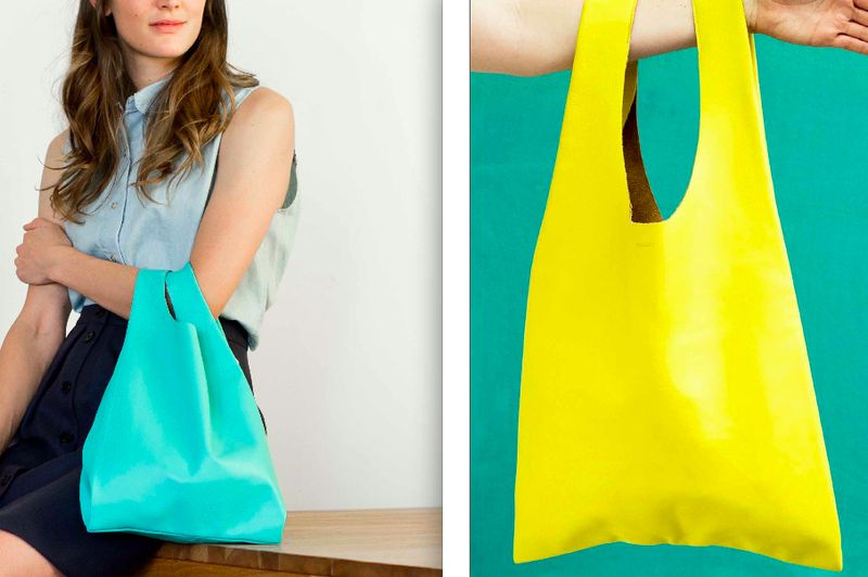Baggu spring 2012 leather bags:The Fashion Informer
