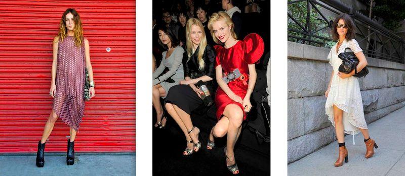 A Front Row Seat-Erin Wasson, Claudia Schiffer, Eva Herzigova, Hanneli Mustaparta