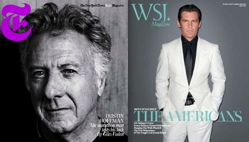 4. Dustin Hoffman:Josh Brolin on The Fashion Informer