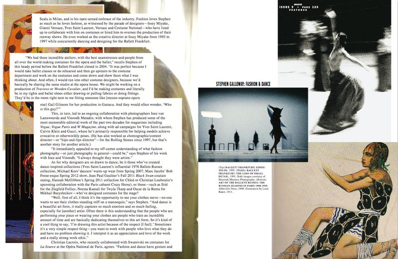 Dossier:Stephen Galloway feature by Lauren David Peden, page 2