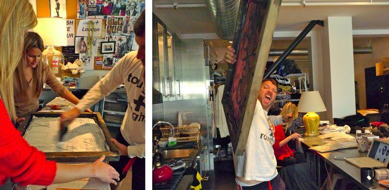 7. Johnson Hartig at work in Libertine studio:The Fashion Informer