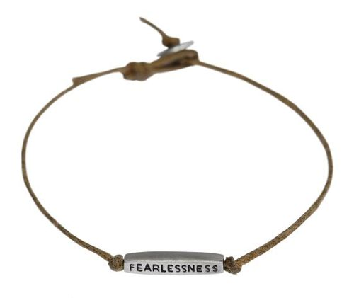 IO- Me & Ro:Joyful Heart Foundation Men's Fearlessness Tube Bracelet