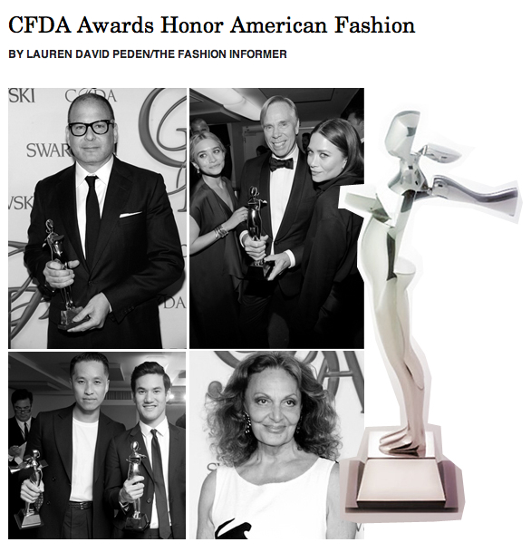 The Fashion Informer on Rue La La - 2012 CFDA Awards