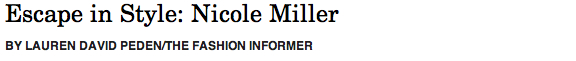 Nicole Miller header