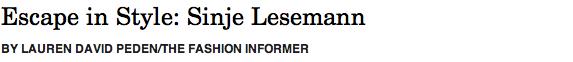 Sinje Lesemann header