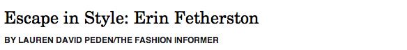 Erin Fetherston header