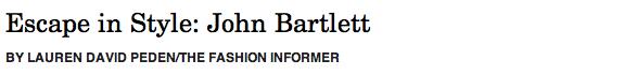 John Bartlett header