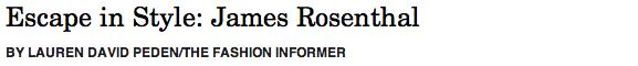 James Rosenthal header