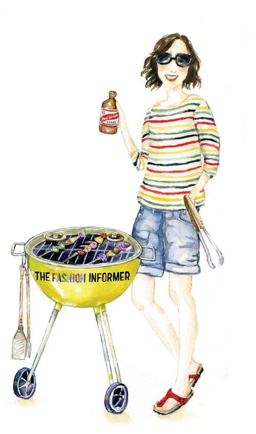 The Fashion Informer BBQ by Lana Frankel