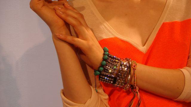 9. Rachel Roy spring 2013 arm candy by Lauren David Peden:The Fashion Informer