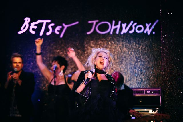 12. Cyndi Lauper at Betsey Johnson spring 2013