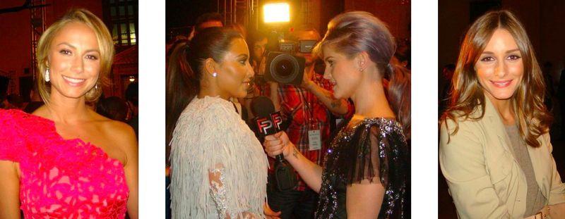 10. Stacy Keibler, Kim Kardashian, Kelly Osbourne, Olivia Palermo