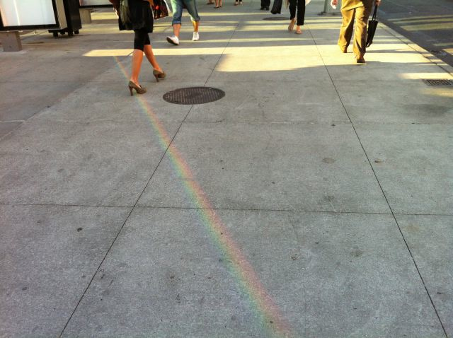 12. Lincoln Center Rainbow by Lauren David Peden:The Fashion Informer