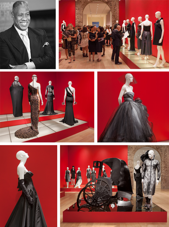 "André-Leon-Talley's-""Little-Black-Dress""-Exhibit-at-SCAD"