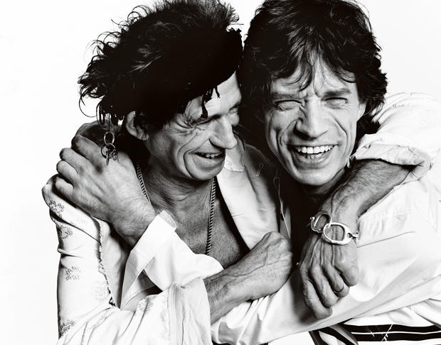 Keith Richards and Mick Jagger by Mario Testino:Boston MFA