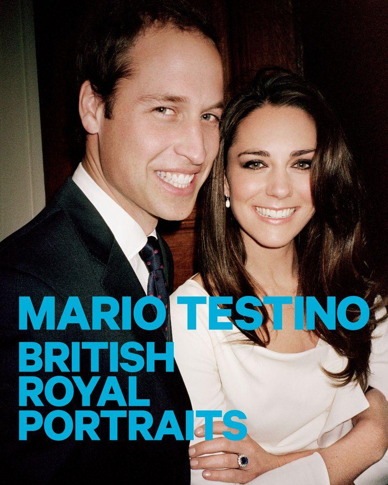 01. Mario Testino British Royal Portaits Poster