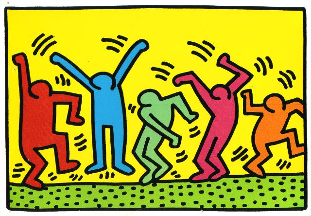 Keith Haring on The Fashion Informer